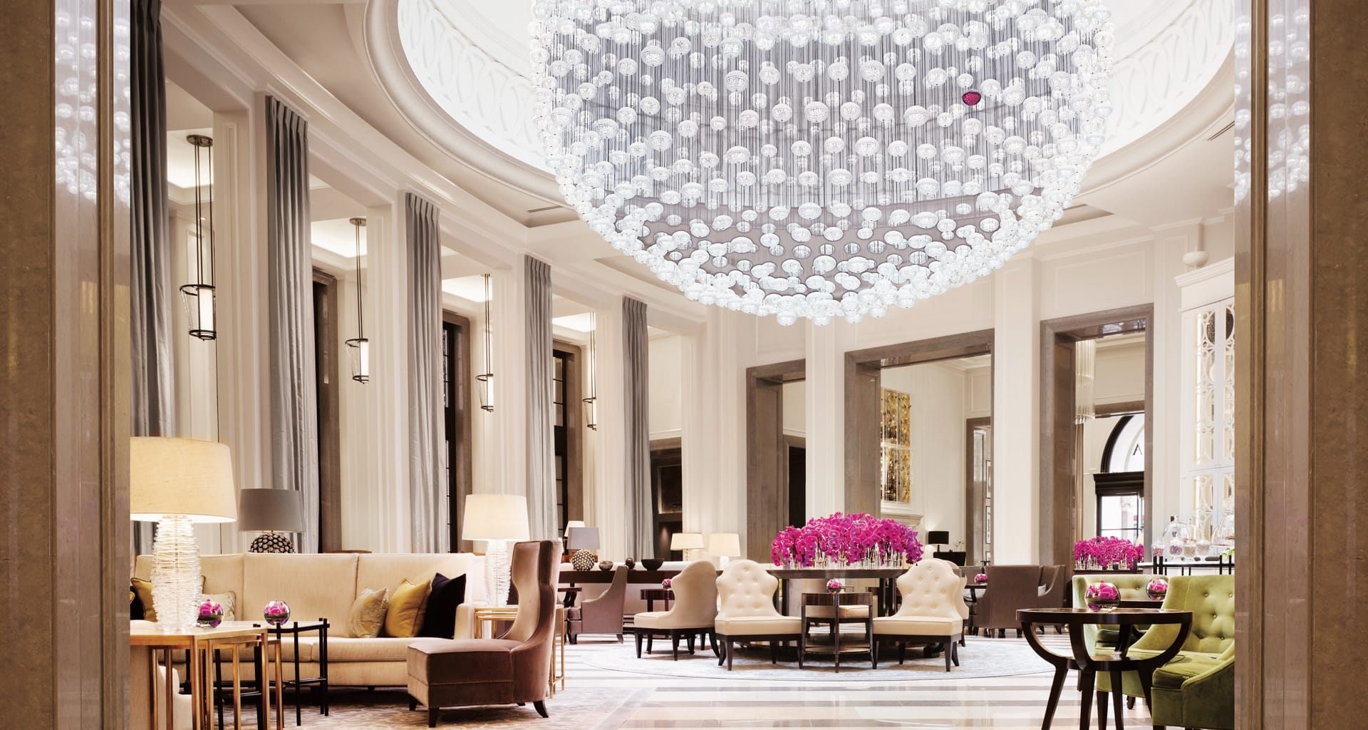 Lobby of Corinthia in London