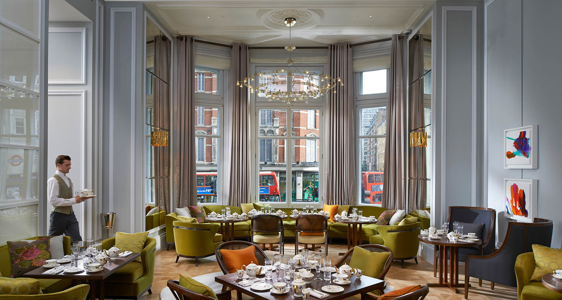 The Rosebery Lounge, Mandarin Oriental Hyde Park