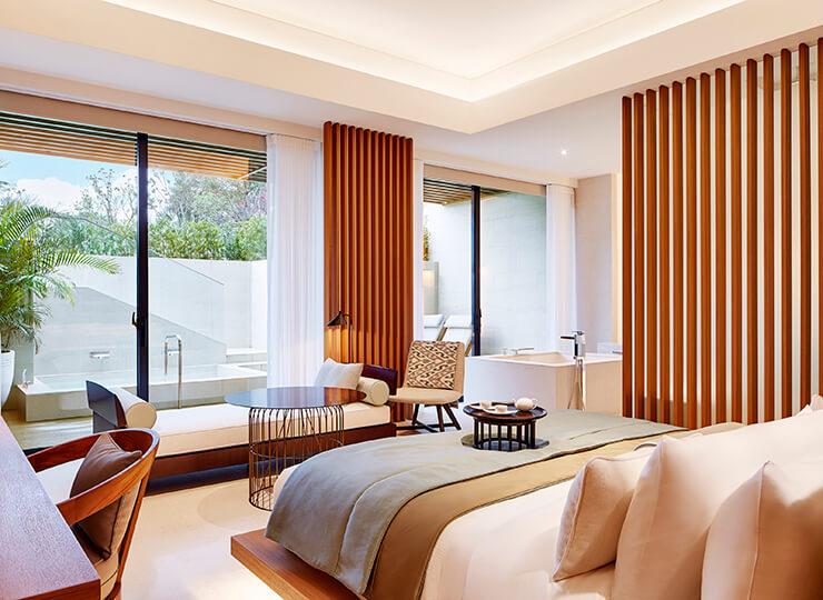 westin tashee resort guestroom